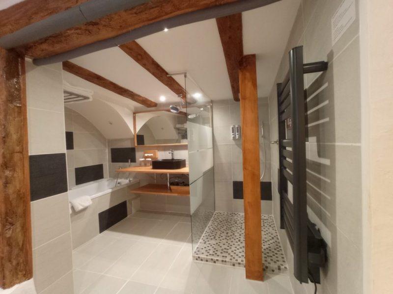La Cigogne Dorée Salle de bains douche